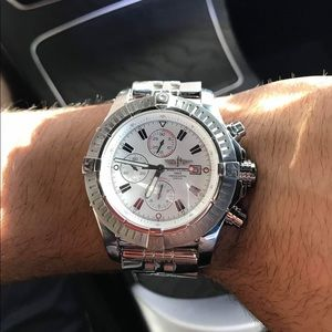 Preowned Authentic Breitling super avenger II 48mm